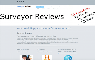 Website Brief - Take a Look at surveyorreview.co.uk