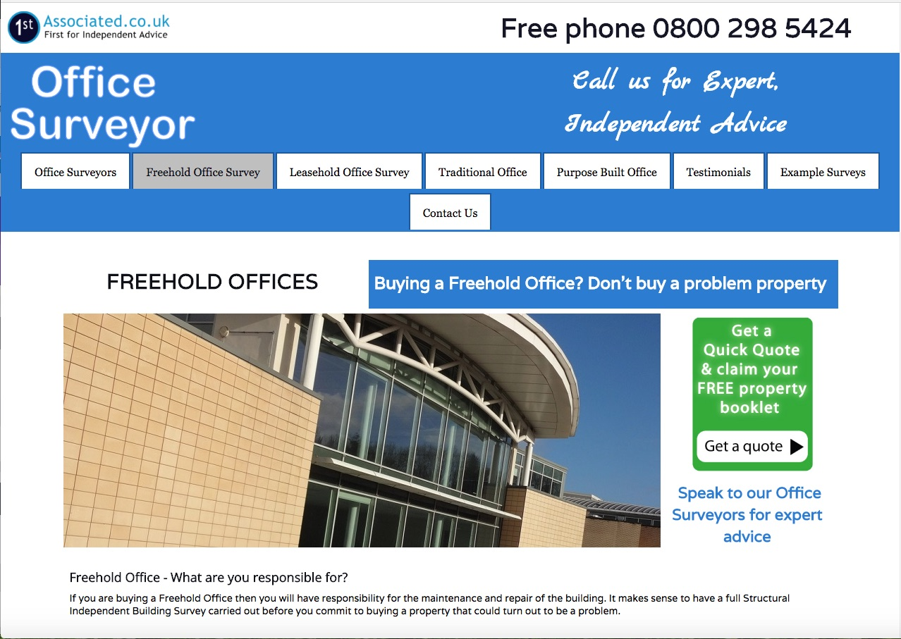 Officesurveyor.co.uk - Purpose Built Office