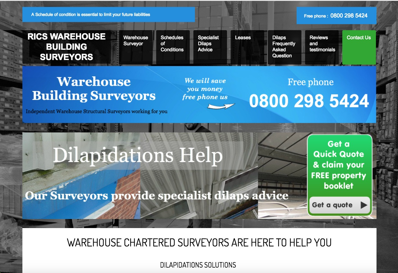 Warehouse Surveyor