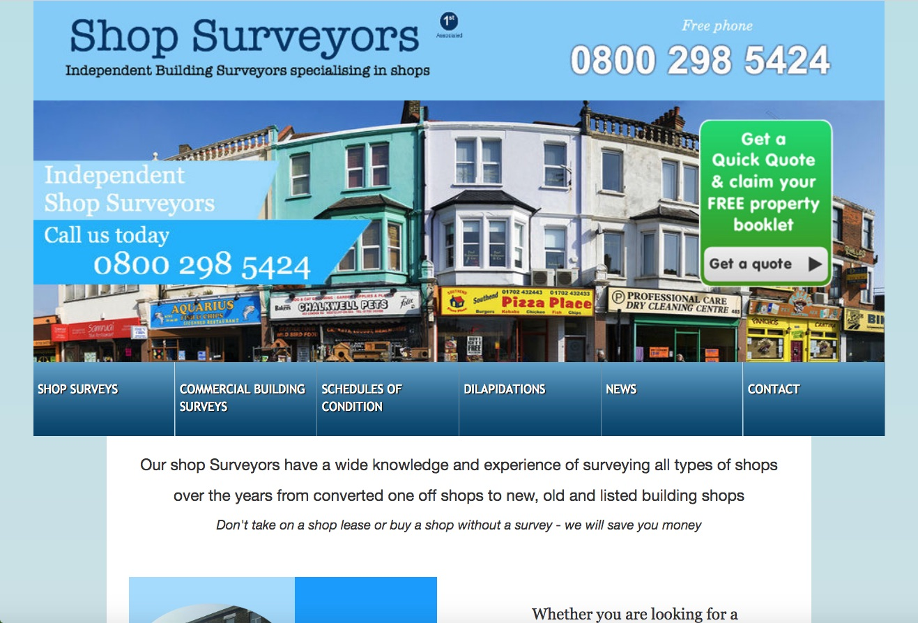 Website Brief - Take a Look at ShopSurveyor.co.uk